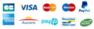 Moyens de paiement disponibles